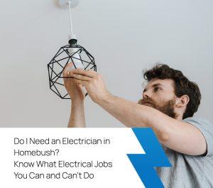 electrician in homebush